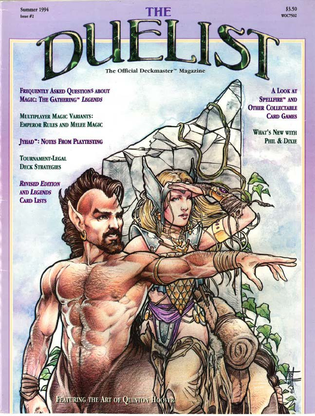 The Duelist #2, Summer 1994