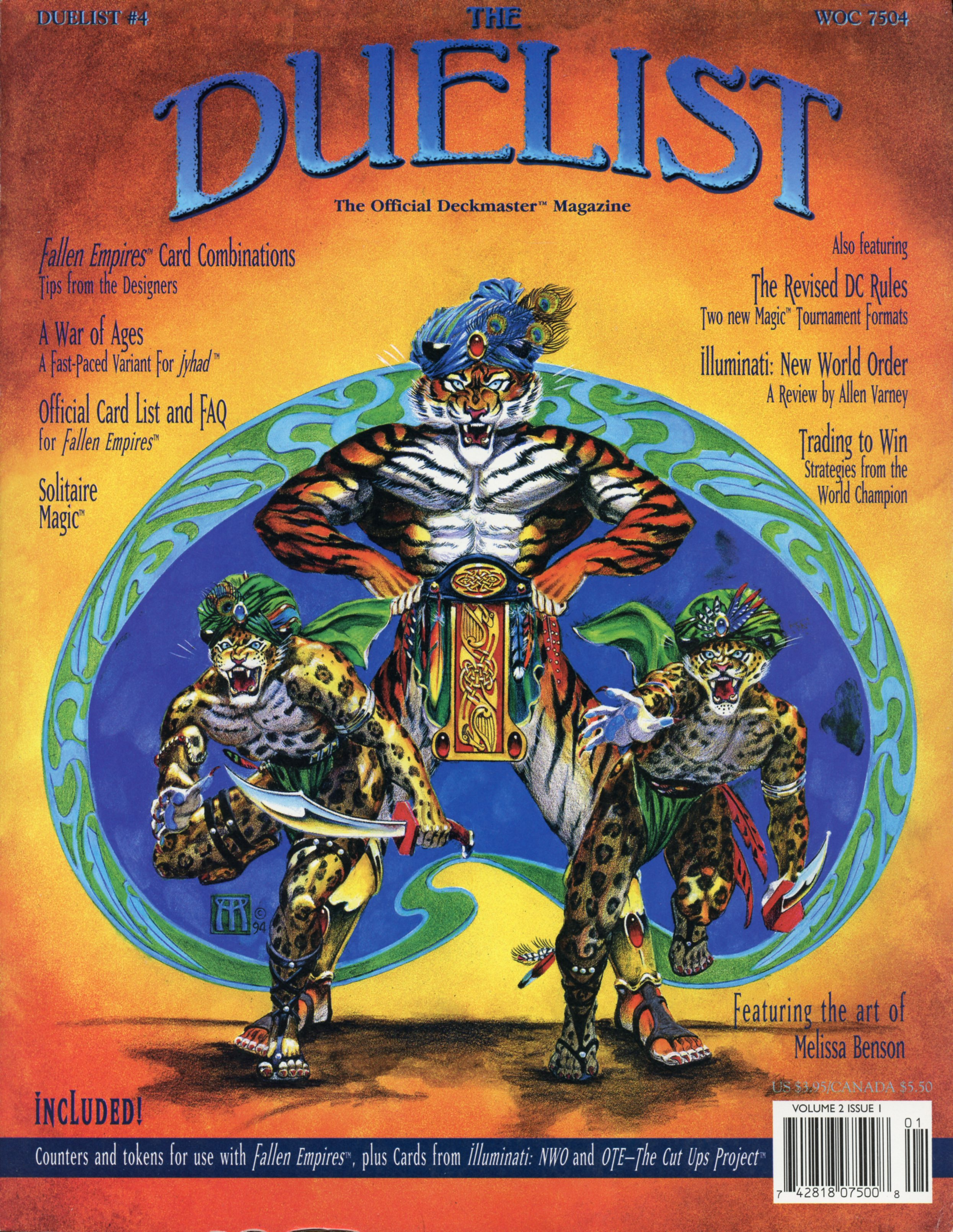 The Duelist #4, March 1995